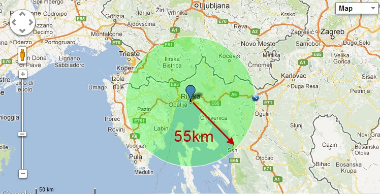 Big Ivan bomba 55km