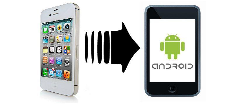 Prebacivanje podataka sa iphona na android