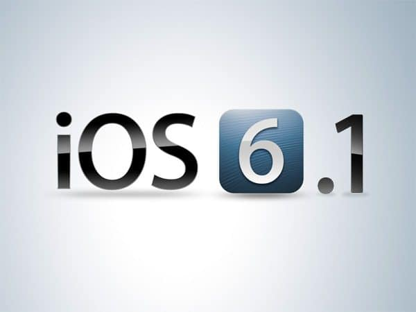iOS 6.1 za IPhone