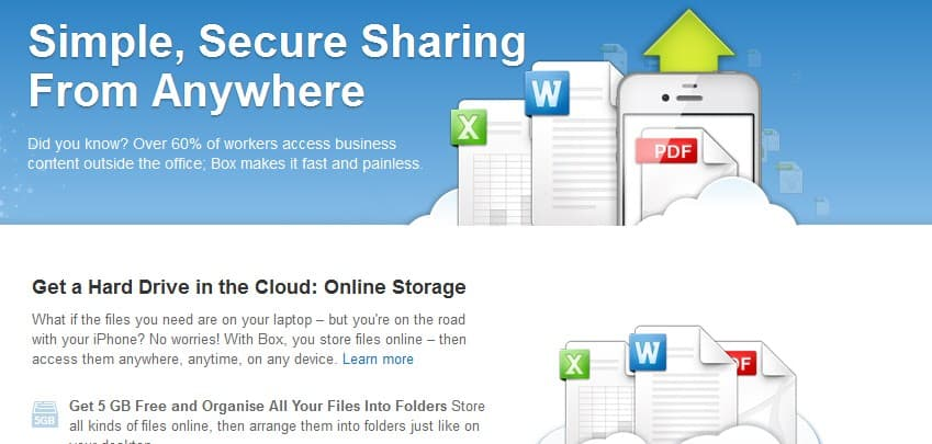 Box poklanja 50GB besplatnog online prostora