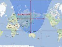 dometa korejskih raketa