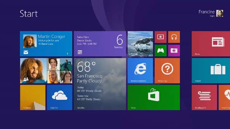 isprobaj Windows 8.1