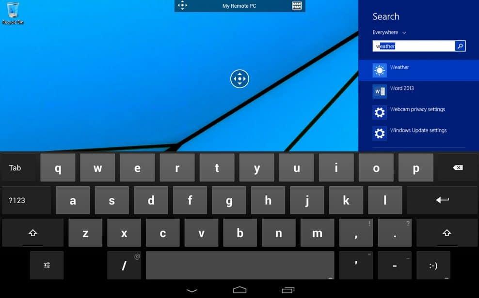 Windows 8 preko mobitela