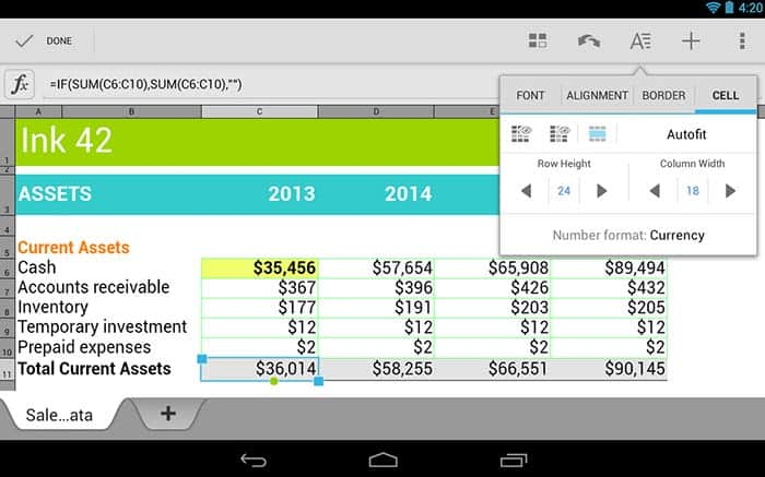 Quickoffice za Android