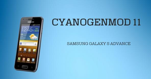 Samsung Galaxy Advance i9070 KitKat 4.4.2