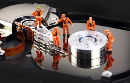 pokvaren hard disk