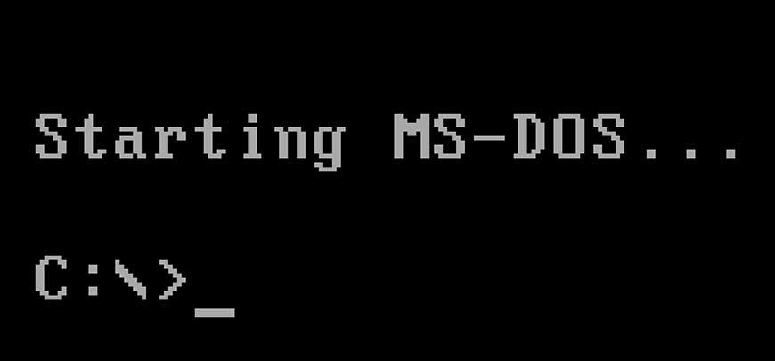Od sada možete preuzeti izvorni kod za MS-DOS besplatno