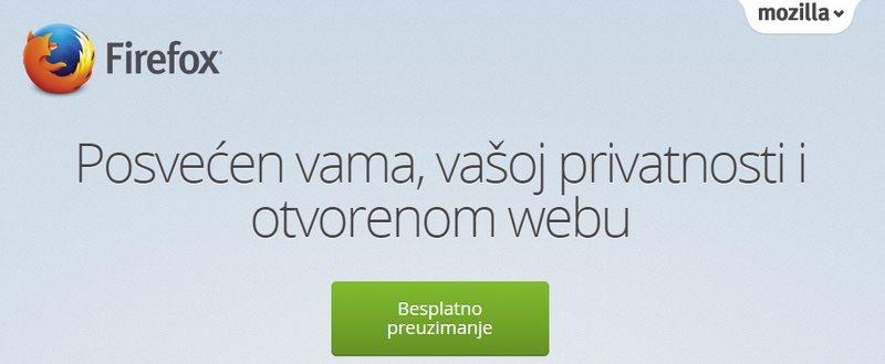 Firefox video poziv