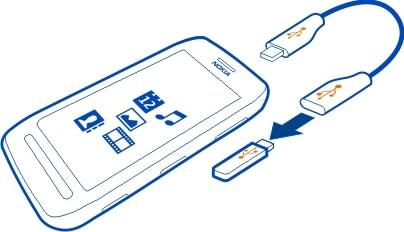 kako spojiti usb s mobitelom