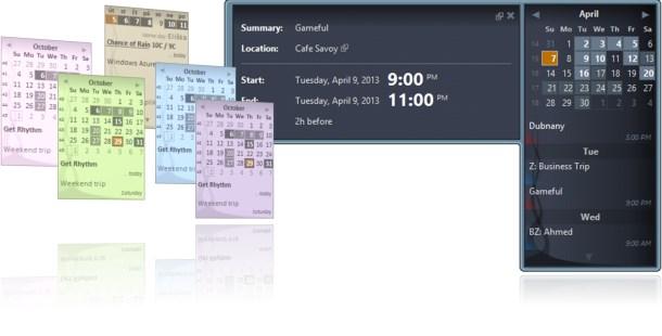 Podesite desktop kalendar