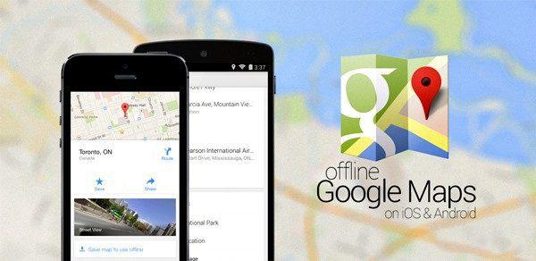 Google Karte bez internet veze – Offline