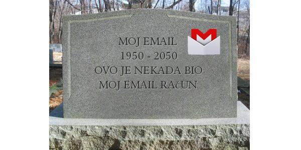 Gmail nakon smrti