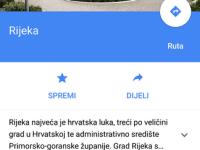 google mape bez interenta