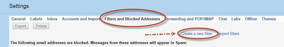 email u spamu