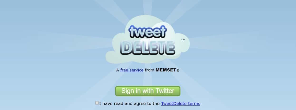 kako obrisati sve tvitove sa twitera