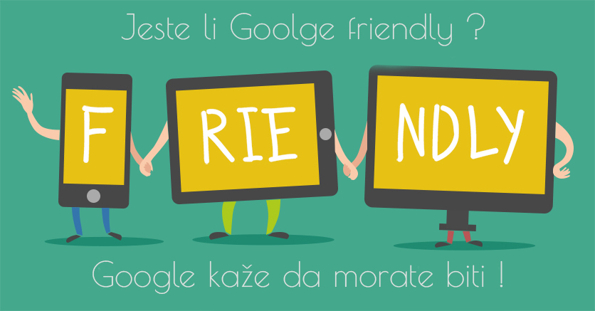 izrada web stranica google friendly