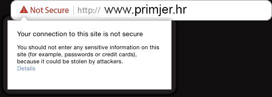 što je SSL certifikat